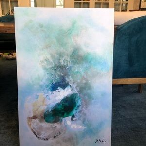 Large Abstract Canvas Print